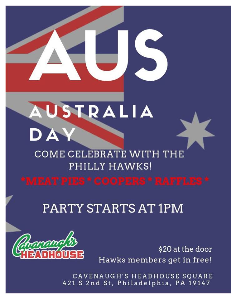 Australia Day 2019 in Philly